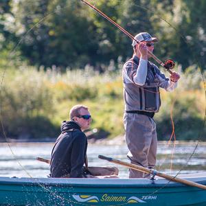 Sportfiskegymnasiet är utbildningen för dig som har ett brinnande sportfiskeintresse.