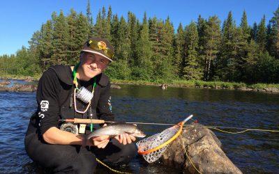 Sportfiskeakademins fjällveckan 2016 har startat