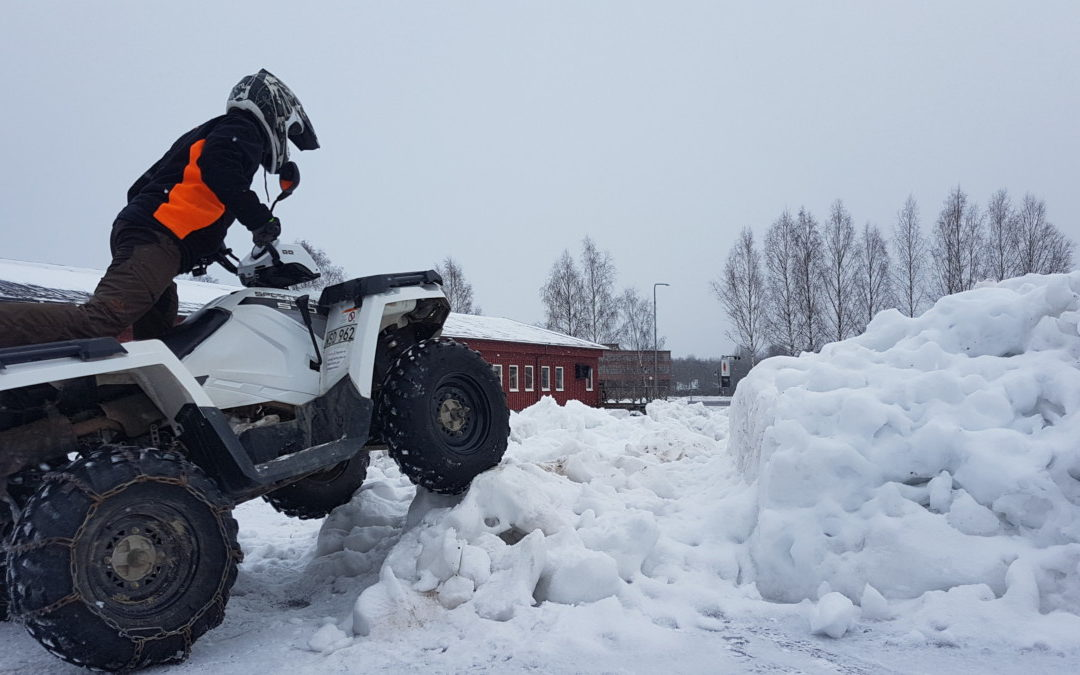 ATV på hal is