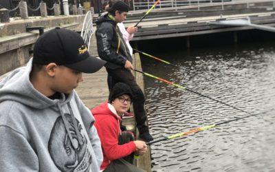 """Löjligt"" roligt streetfiske"