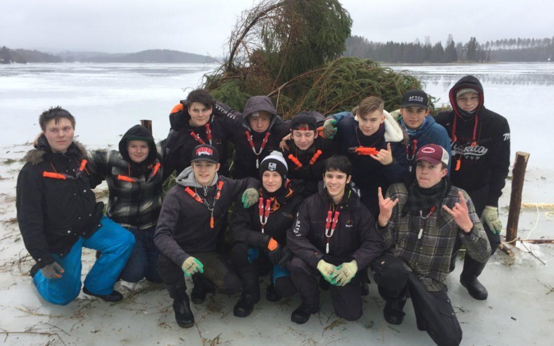 Risvasbygge och fiskförvaltning