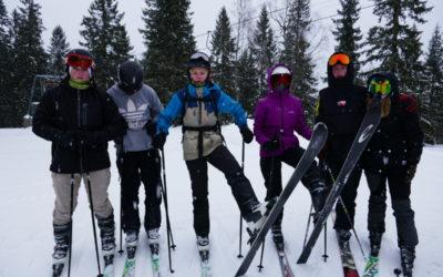 Skidor, skidor, skidor……