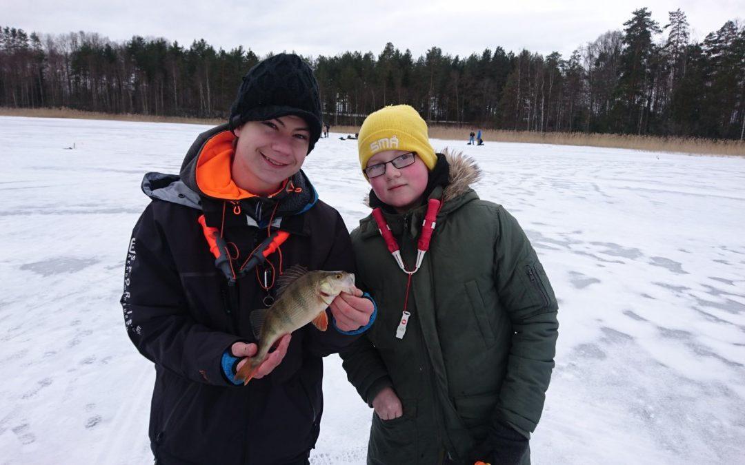Isguidning för fiske 1