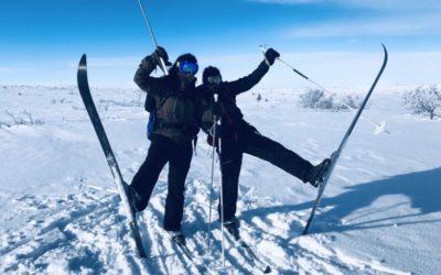 Vilteleverna på vintervecka i Fulufjäll