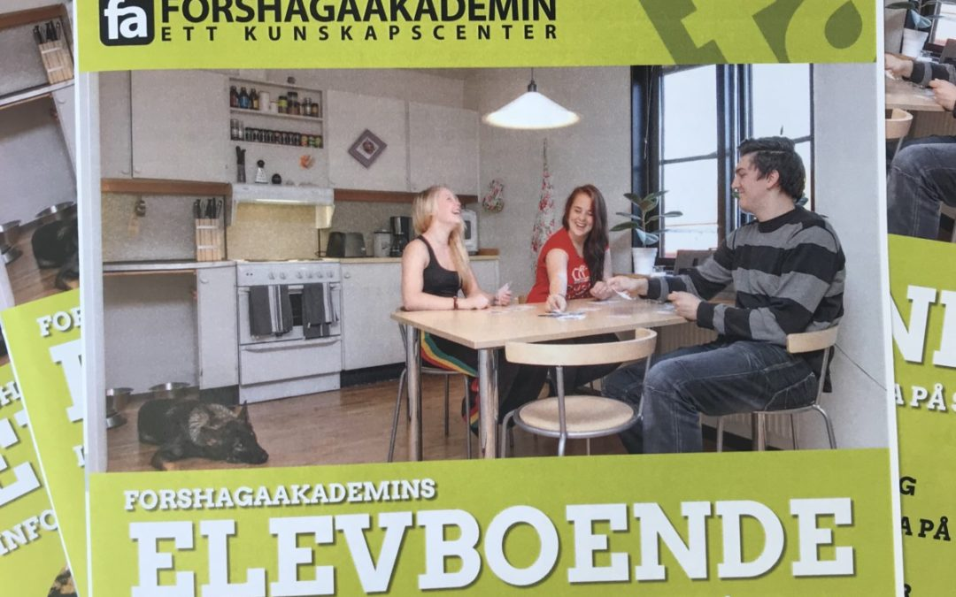 Ny broschyr om skolans elevboende