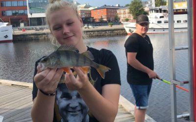 Street-fiske för Sportfiske åk 1